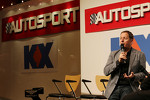 Martin Brundle, Sky Sports Commentator on the Autosport Stage