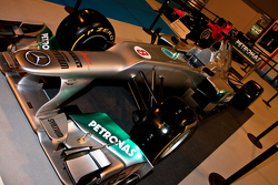 Mercedes 2012 F1 car Display