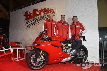 Ducati officials