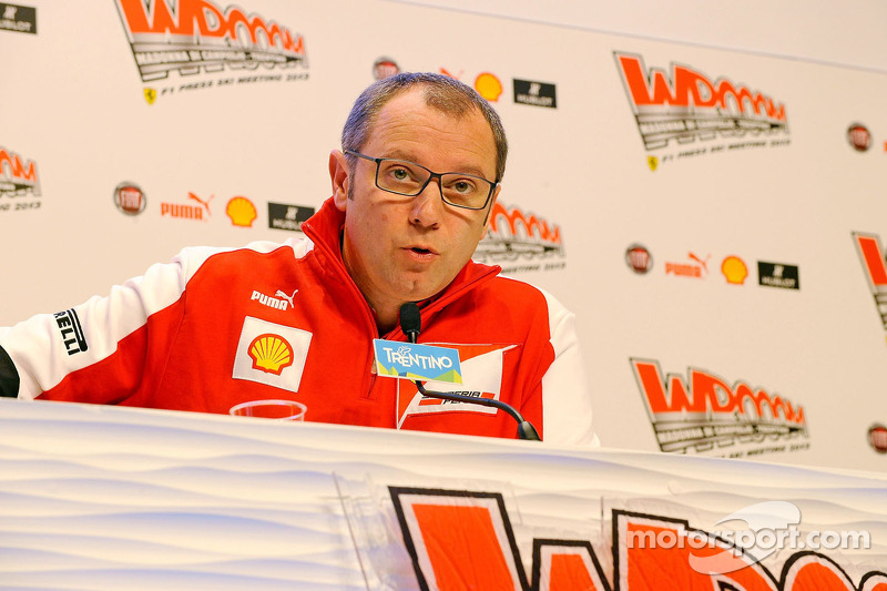 Stefano Domenicali, head of Scuderia Ferrari