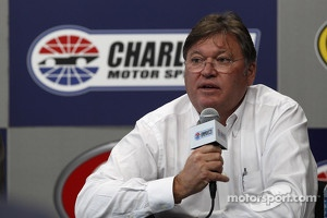 Robin Pemberton, Vice President for Competition of NASCAR