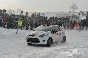 Sylvain Droxler and Agnes Eicher, Ford Fiesta R2