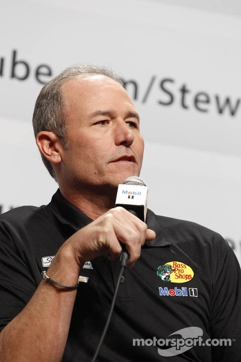 Steve Addington, crew chief for Tony Stewart