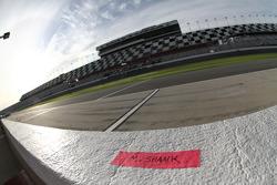 Michael Shank Racing pit box