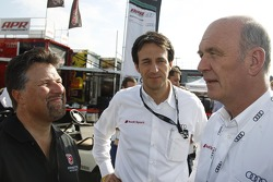 Michael Andretti meets Dr. Wolfgang Ullrich, Head of Audi's Motorsport