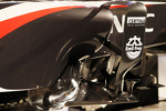 Sauber C32 sidepod detail