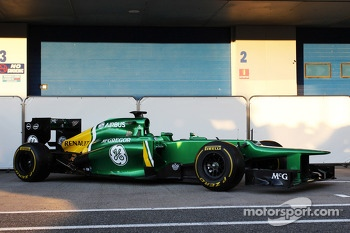 The new Caterham CT03