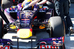 Red Bull Racing RB9 front wing and front suspension
