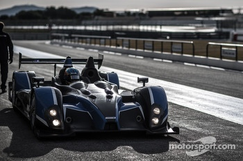 ORECA-FLM 09 testing
