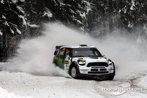 Jarkko Nikara and Jarkko Kalliolepo, Mini John Cooper Works WRC