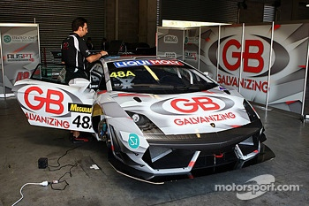 #48 Lamborghini LP560: Justin McMillan, Steven Richards, Ross Lilley
