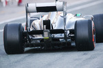 Sauber C32 rear diffuser and rear wing