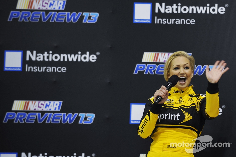 Brooke Werner, new Miss Sprint Cup