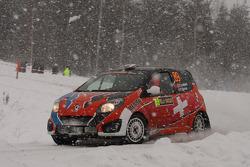 Ivan Cominelli and Moira Lenzi, Renault Twingo