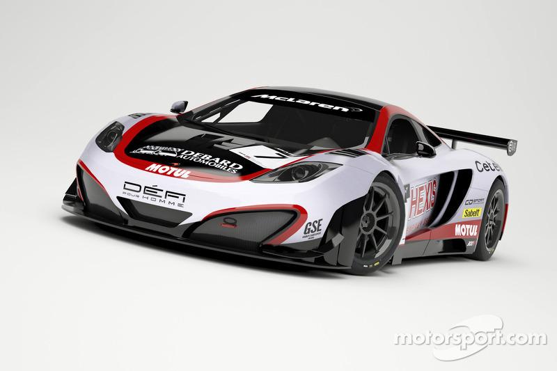 Hexis Racing's McLaren MP4-12C