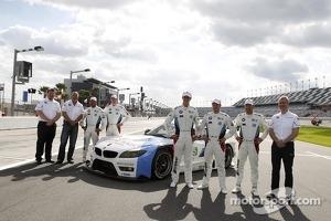 Gordon McDonnel, BMW Motorsport North America, Bobby Rahal, Team Principal BMW Team RLL, Bill Auberlen, Maxime Martin, John Edwards, Dirk Müller, Joey Hand, Jens Marquardt, Head of BMW Motorsport
