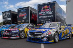 Holden and Mercedes challengers