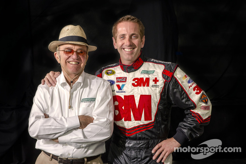 Greg Biffle with Jack Roush