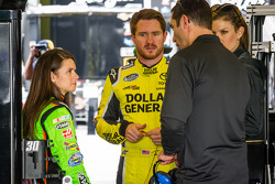 Danica Patrick, Brian Vickers, Max Papis and Jamie Little