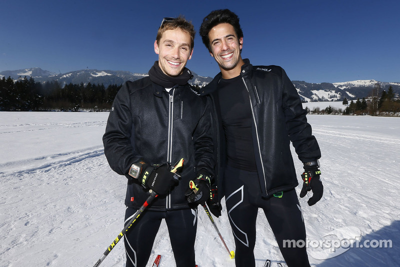 Filipe Albuquerque and Lucas di Grassi
