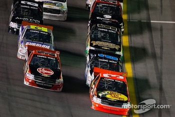 Ty Dillon and James Buescher lead the field