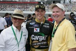 Trevor Bayne and Jack Roush