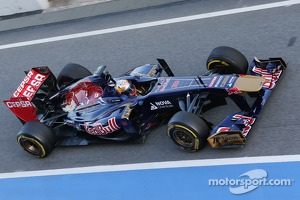 Jean-Eric Vergne, Scuderia Toro Rosso STR8
