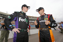 Denny Hamlin and Matt Kenseth