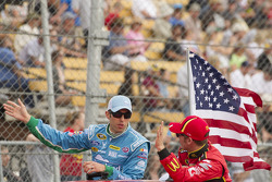 Aric Almirola and Jamie McMurray
