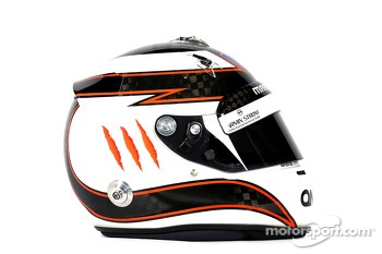 The helmet of Max Chilton, Marussia F1 Team