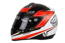 The helmet of Kimi Raikkonen, Lotus F1 Team