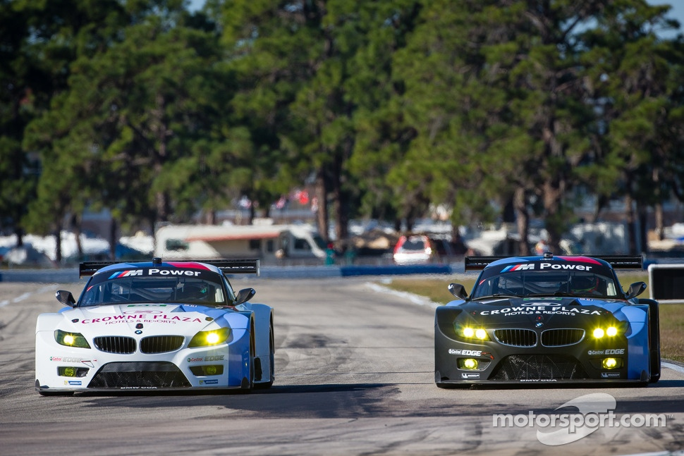 #56 BMW Team RLL BMW Z4 GTE: Dirk Mller, Joey Hand, John Edwards, #55 BMW Team RLL BMW Z4 GTE: Bill Auberlen, Maxime Martin, Jrg Mller