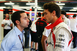 Nicolas Todt, Driver Manager with Jules Bianchi, Marussia F1 Team