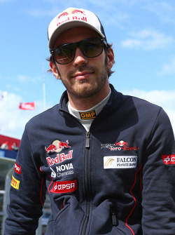 Jean-Eric Vergne, Scuderia Toro Rosso on the drivers parade