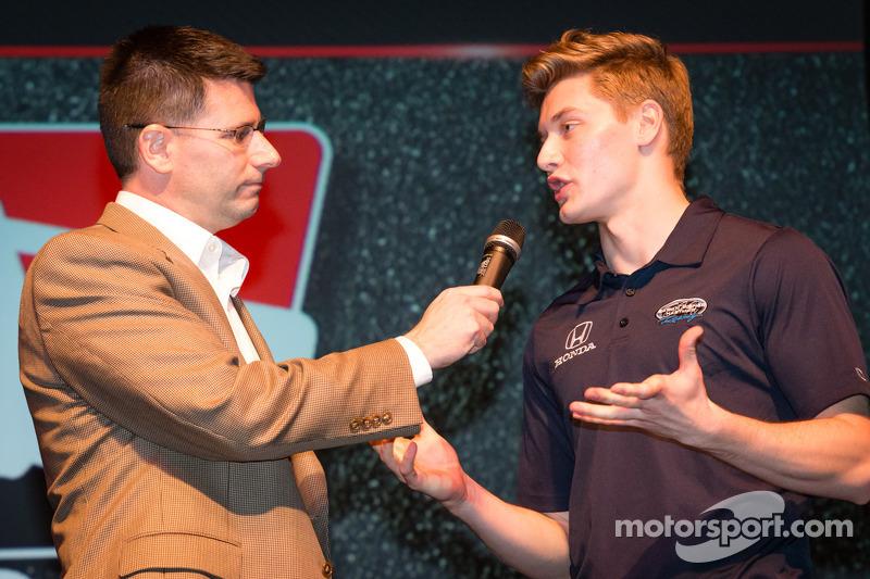 Drivers presentation: Josef Newgarden, Sarah Fisher Hartman Racing Hionda