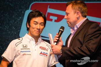 Drivers presentation: Takuma Sato, A.J. Foyt Enterprises Honda