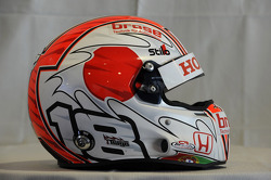 Helmet, Tiago Monteiro, Honda Civic Super 2000 TC, Honda Racing Team Jas