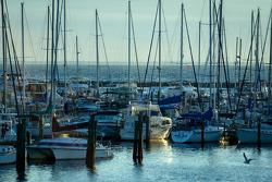 Sunrise on St. Pete marina