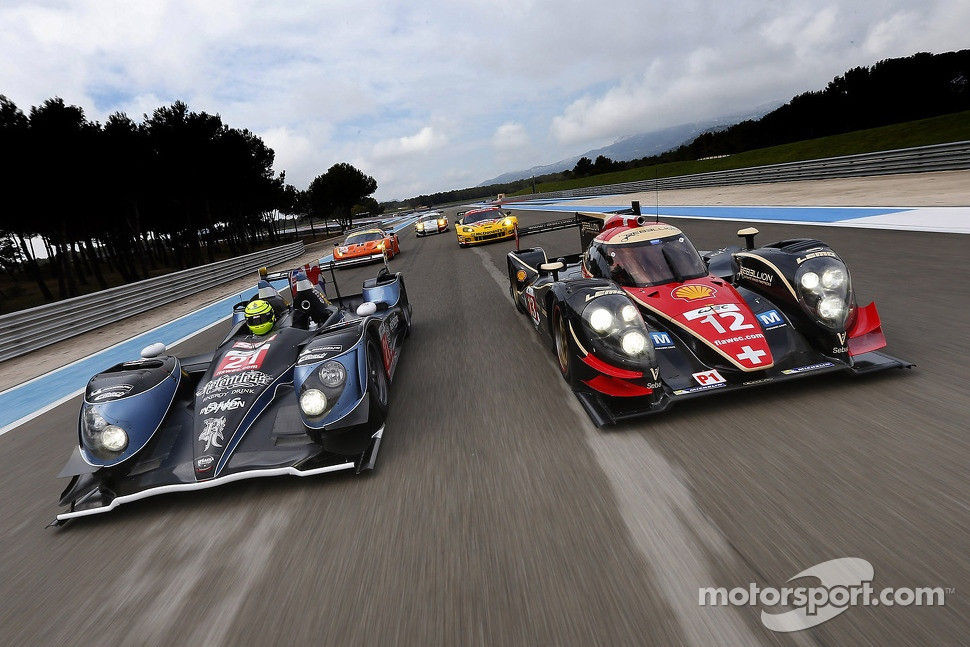 LMP cars photoshoot