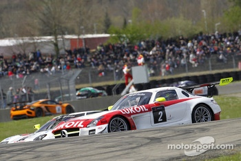 #2 HTP Gravity Charouz Mercedes SLS AMG GT3: Sergei Afanasiev, Alan Simonsen