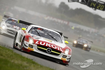 #2 HTP Gravity Charouz Mercedes SLS AMG GT3: Sergei Afanasiev, Allan Simonsen