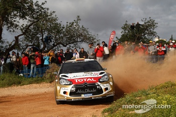 Dani Sordo, Carlos del Barrio, Citroen DS3 WRC, Citron Total Abu Dhabi World Rally Team