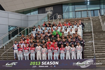 WEC 2013 Drivers Group Photo
