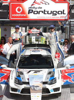 Sebastien Ogier, Julien Ingrassia, Volkswagen Polo WRC, Volkswagen Motorsport, winner