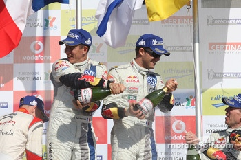 Sebastien Ogier, Julien Ingrassia, Volkswagen Polo WRC, Volkswagen Motorsport, winner
