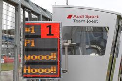 Audi Sport Team Joest celebrate victory