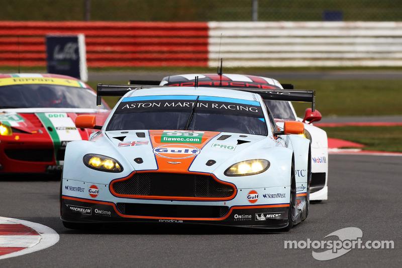 #99 Aston Martin Vantage V8: Pedro Lamy, Frederic Makowiecki, Paul Dalla Lana