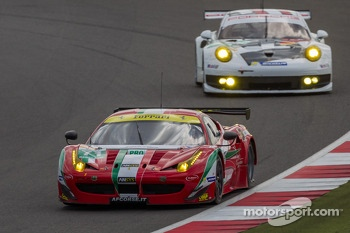 #71 AF Corse Ferrari 458 Italia: Kamui Kobayashi, Toni Vilander