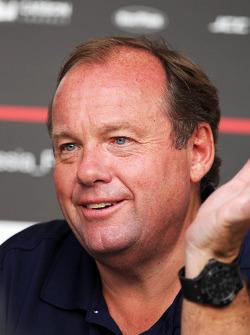 Grahame Chilton, Father of Max Chilton, Marussia F1 Team