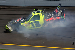 Todd Bodine crashes